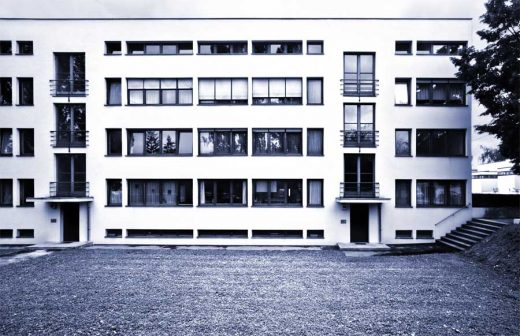 Apartment House Weissenhof Estate Germany by Mies van der Rohe architect