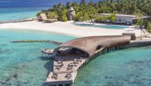 The Whale Bar, St Regis Hotel, The Maldives