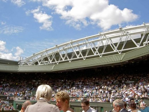 Wimbledon Centre Court Roof London