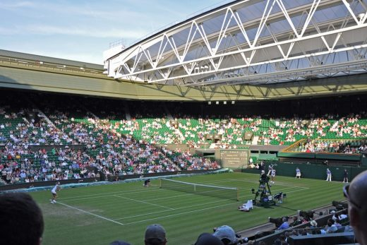 Wimbledon Centre Court Roof closing