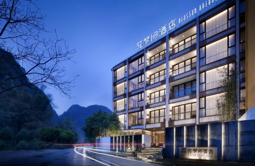 Yangshuo Blossom Dreams Hotel - Chinese Hotel Buildings