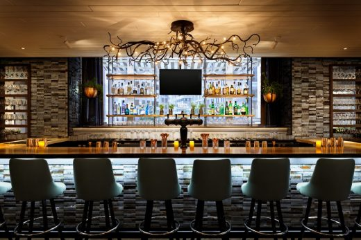 Ames Boston Hotel bar