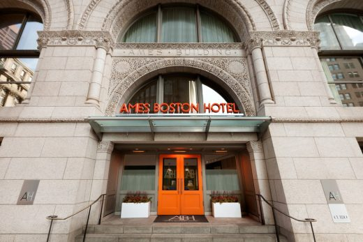 Ames Boston Hotel entry
