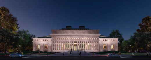 Apple Store at Carnegie Library of Washington D.C. design | www.e-architect.com