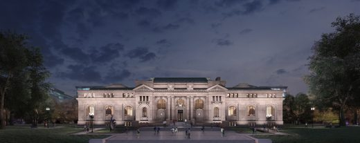 Apple Retail Store at Carnegie Library of Washington D.C. | www.e-architect.com