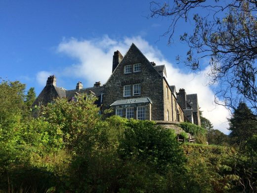 Arisaig House building