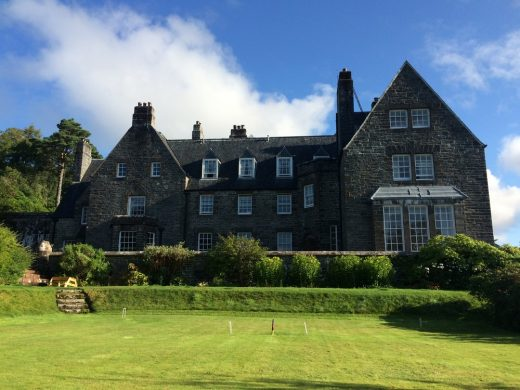 Arisaig House south facade