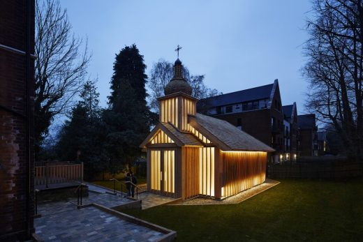 Wooden Religious Building in South East England design by Spheron Architects