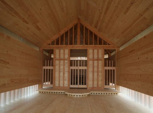 Wooden Religious Building in London design by Spheron Architects