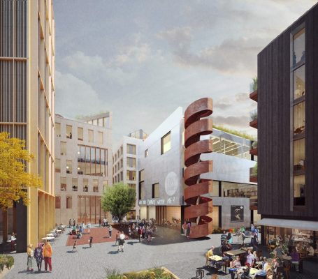 Circus Square Development Brighton
