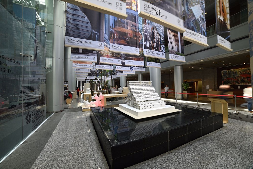 D Printing Exhibition Singapore : Dp architects exhibition in singapore e architect