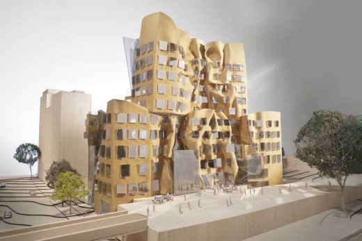 Dr Chau Chak Wing Building Sydney UTS by Frank Gehry architect