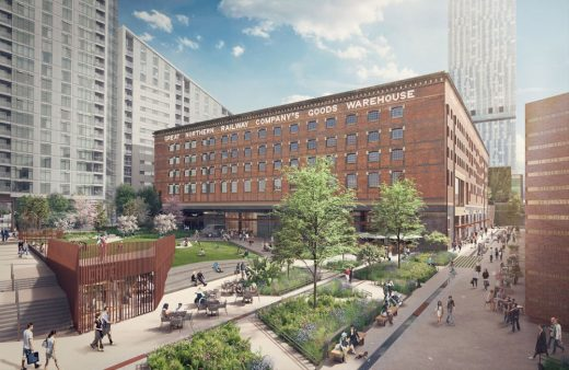 Great Northern Warehouse and Square design Manchester Building News