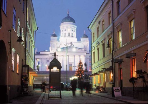 Helsinki Cathedral building