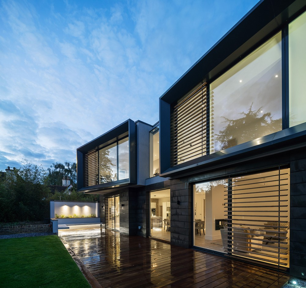 Hilltop house in kingston upon thames e architect for Hilltop house designs