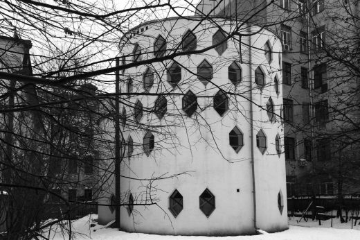 Melnikov House - Moscow Architecture Tours