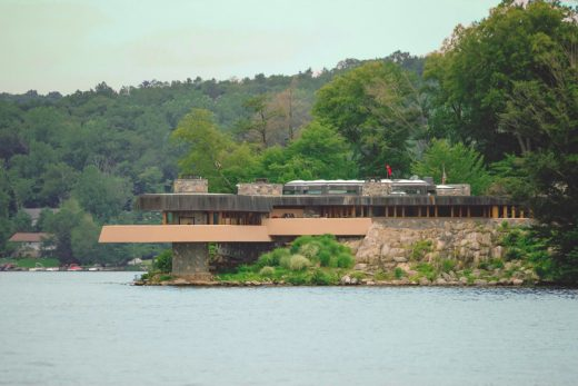 Petra Island home by Frank Lloyd Wright | www.e-architect.co.uk