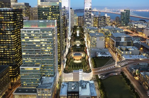 Salesforce Transit Center San Francisco USA - City Buildings