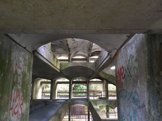 Cardross Seminary building design by Gillespie Kidd & Coia Architects