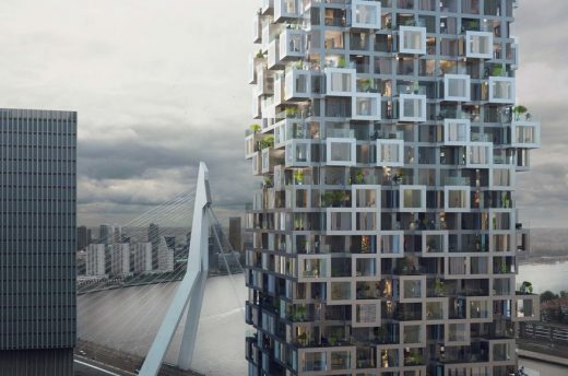 The Sax, Rotterdam Tower by MVRDV