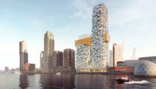 The Sax Tower Building by MVRDV Architects