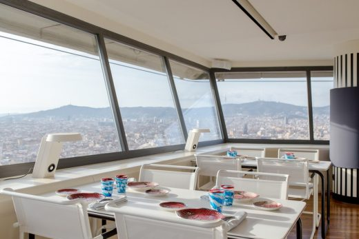 Thonet All Seasons Chairs in Barcelona Restaurant