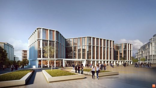 University of Glasgow New Research Hub building by HOK