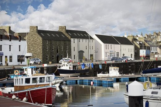 Wick Harbour Buildings