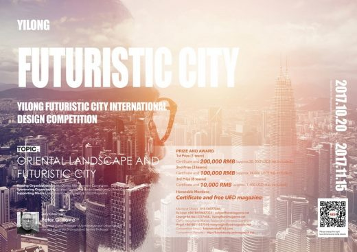 Yilong Futuristic City International Design Competition - Architects Competitions
