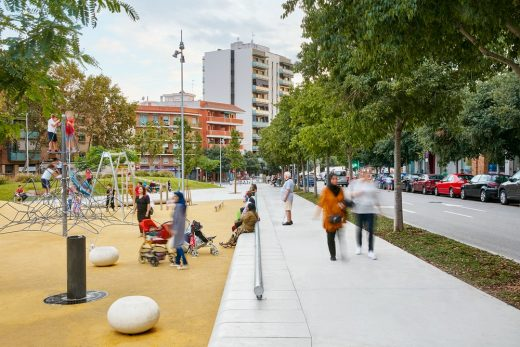 A green space in Badalona