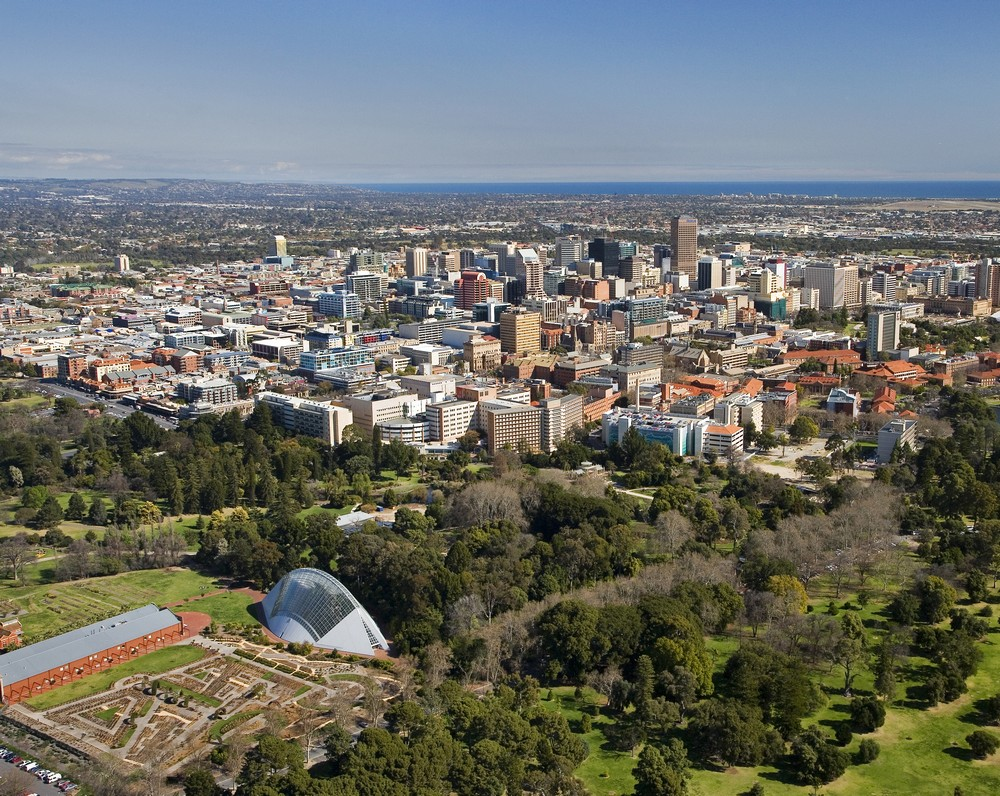 adelaide architecture aerial view e architect