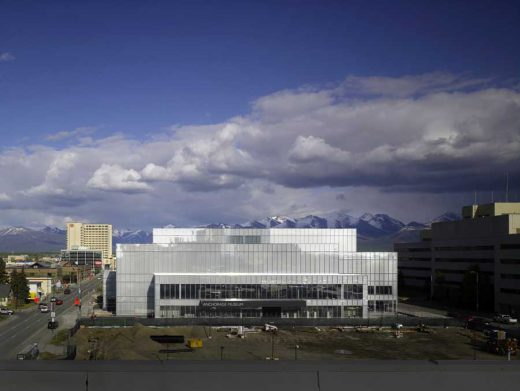 Anchorage Museum building - Alaskan Architecture Tour