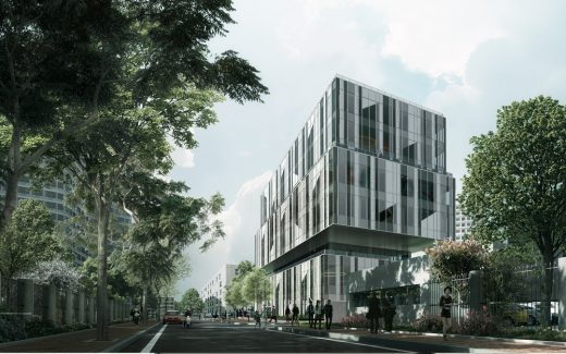 Headquarters Building in Shanghai by shl