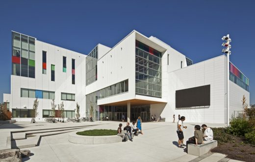 Wilson Arts Plaza, SE entrance, Emily Carr University of Art + Design Vancouver