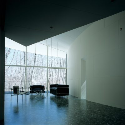 Gallery in Kiyosato Villa With Exhibition Space