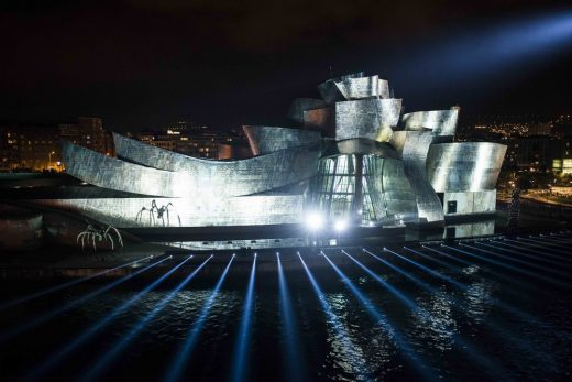 Reflections at The Guggenheim Museum Bilbao 2017