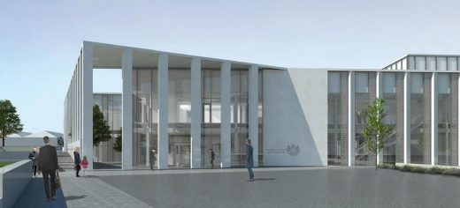 Inverness Justice Centre Building project