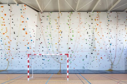 Sports Hall at Jean Louis Trintignant Middle School