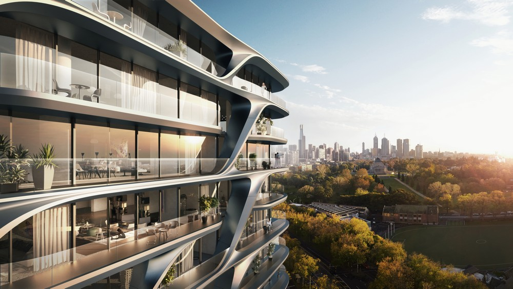 Mayfair Residential Tower In Melbourne E Architect