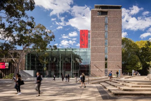 Millar Building at Macquarie University, Sydney