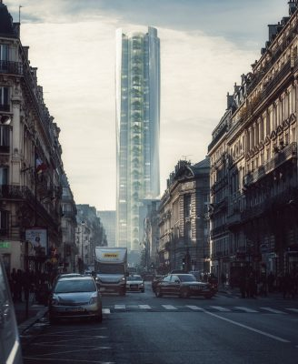 Mirage Montparnasse Tower Paris by MAD Architects