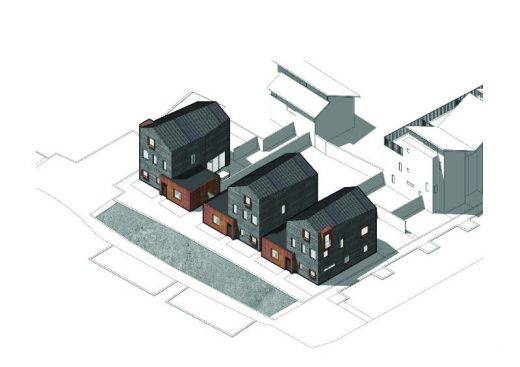 New Pond Street properties in Newhall, Essex by AR Design Studio