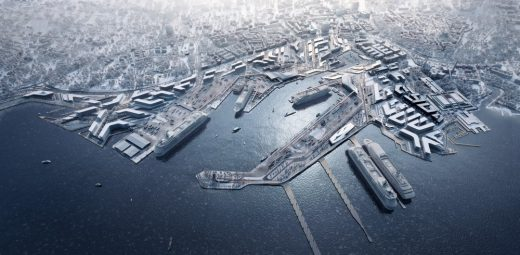 Old City Harbour Development Estonia Architecture News