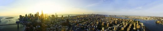 One Manhattan Square Skyscape Collection panoramic