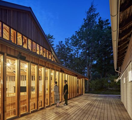 Perles Family Studio at Jacob's Pillow Dance in Becket