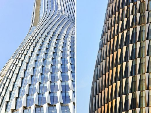 Raffles City China design by UNStudio Architects