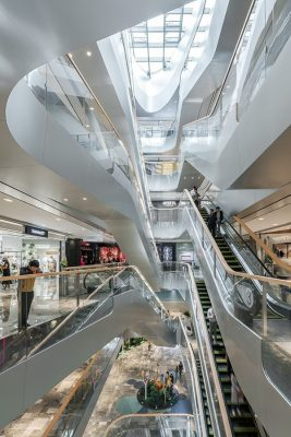 Raffles City Hangzhou interior by UNStudio Architects