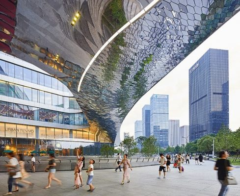 Raffles City Hangzhou Building by UNStudio Architects
