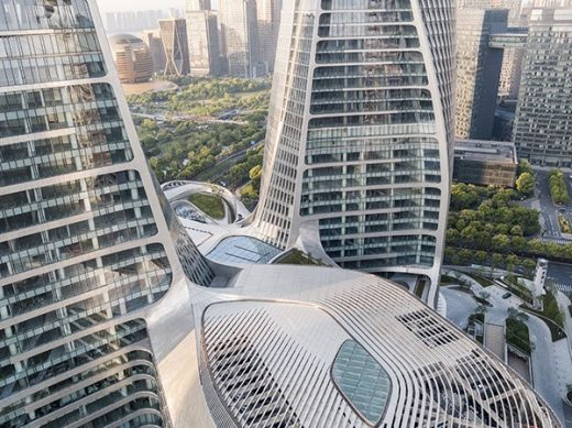 Raffles City Hangzhou design by UNStudio Architects