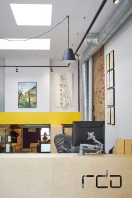 RDA East Dulwich Architects Office interior
